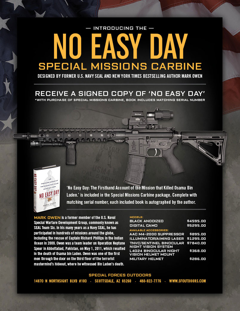 No Easy Day, the Rifle | WeaponsMan